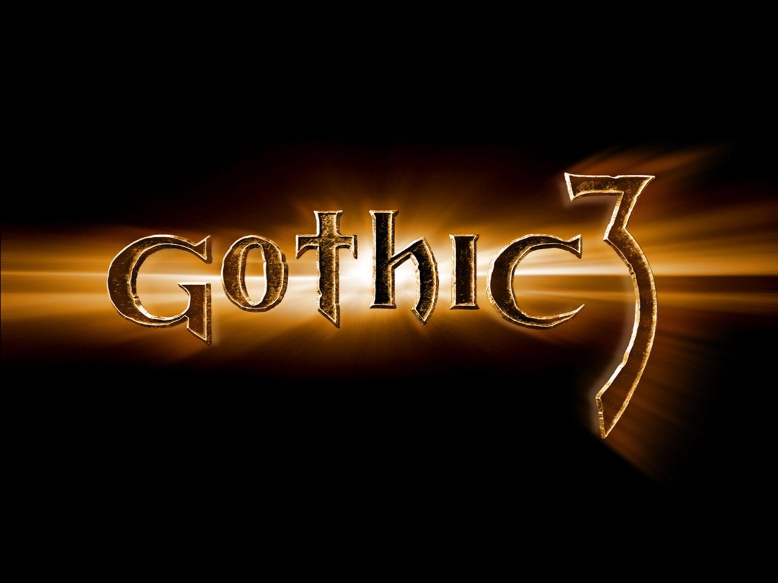 Обои для рабочего стола Gothic 3 .